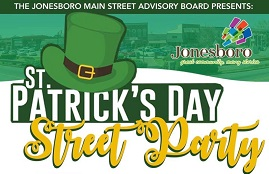 St. Patrick's Day Street Party