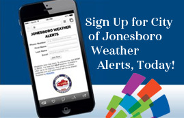 Jonesboro Announces New Weather Alert System